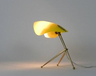 Lampe de bureau moderniste, moitié du siècle moderne
