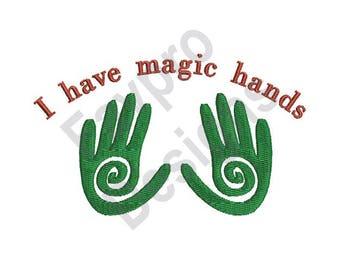 Magic Hands - Machine Embroidery Design