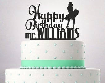 Bithday Cake Topper funny Marilyn Monroe Custom Personalized 081