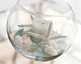 Treasures from the Sea Candle Holder - Style #2