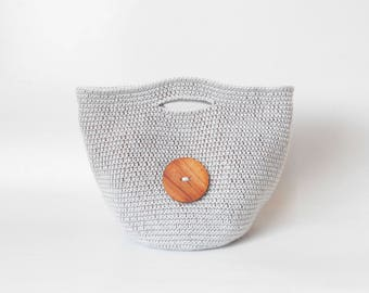 Crochet pattern for Tapestry Bag-Clutch. Crochet one bag with two purposes. In one piece, learn tapestry crochet.