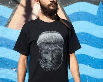 SALE  30% off men t shirt black color ,OM,SHIVA,Yoga clothing,Christmas gift, gift for him