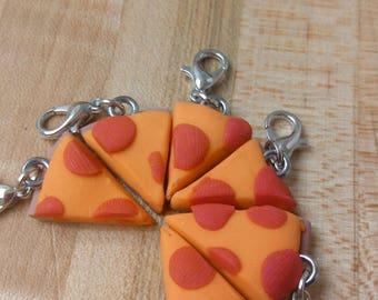 Pizza Slice Clay Charm