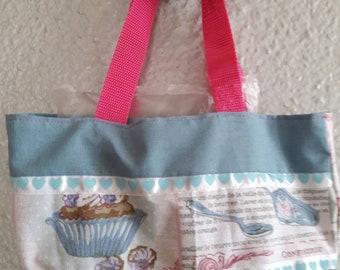 Girl pastry bag