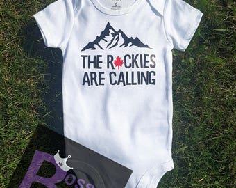The Rockies are calling Baby Onesie