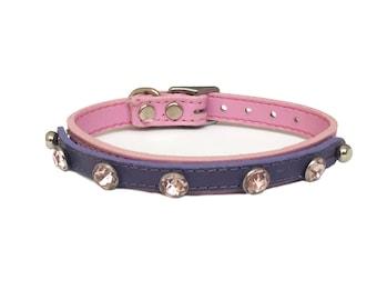 Pink Gems Vanity Plate