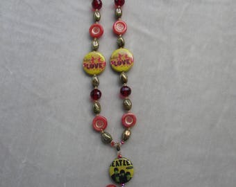The Beatles Hand-Crafted Beaded Necklace