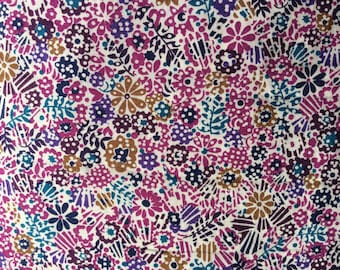 Tana lawn fabric from Liberty of London, Clarricoates