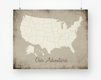 usa push pin map poster download large size united states map