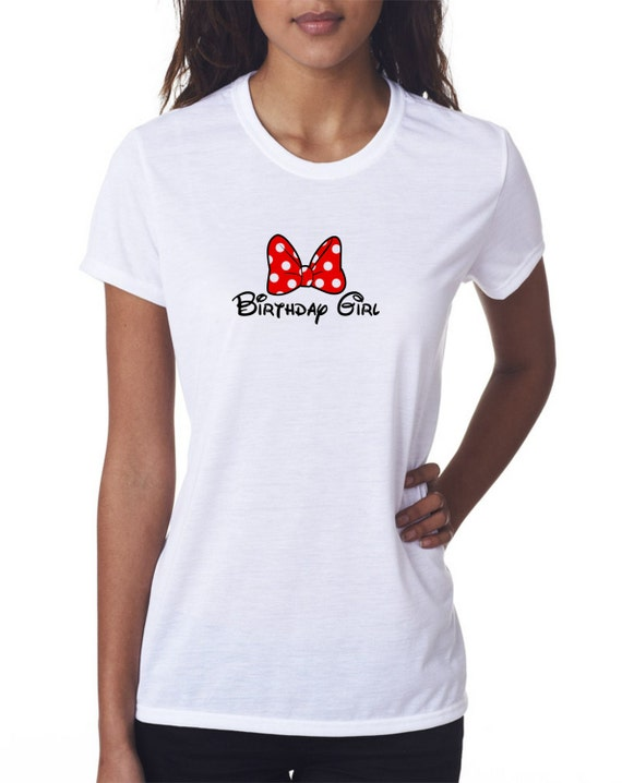 Birthday Girl with Bow Youth/Girls T-Shirt