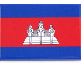 Flag of Cambodia Fridge Magnet