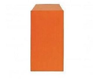 lot 10 pouches bags bags envelopes kraft 7 x 12 orange