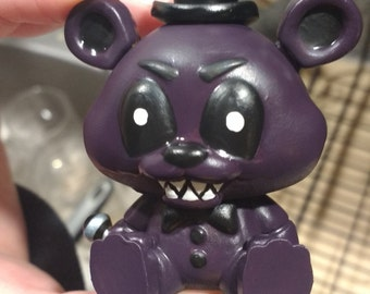 Custom Shadow/Nightmare Five Nights at Freddy's Freddy Mini Mystery Figure Funko