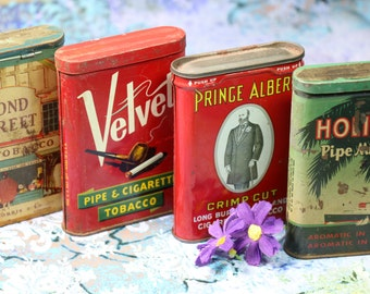 1 Vintage Tobacco Tin