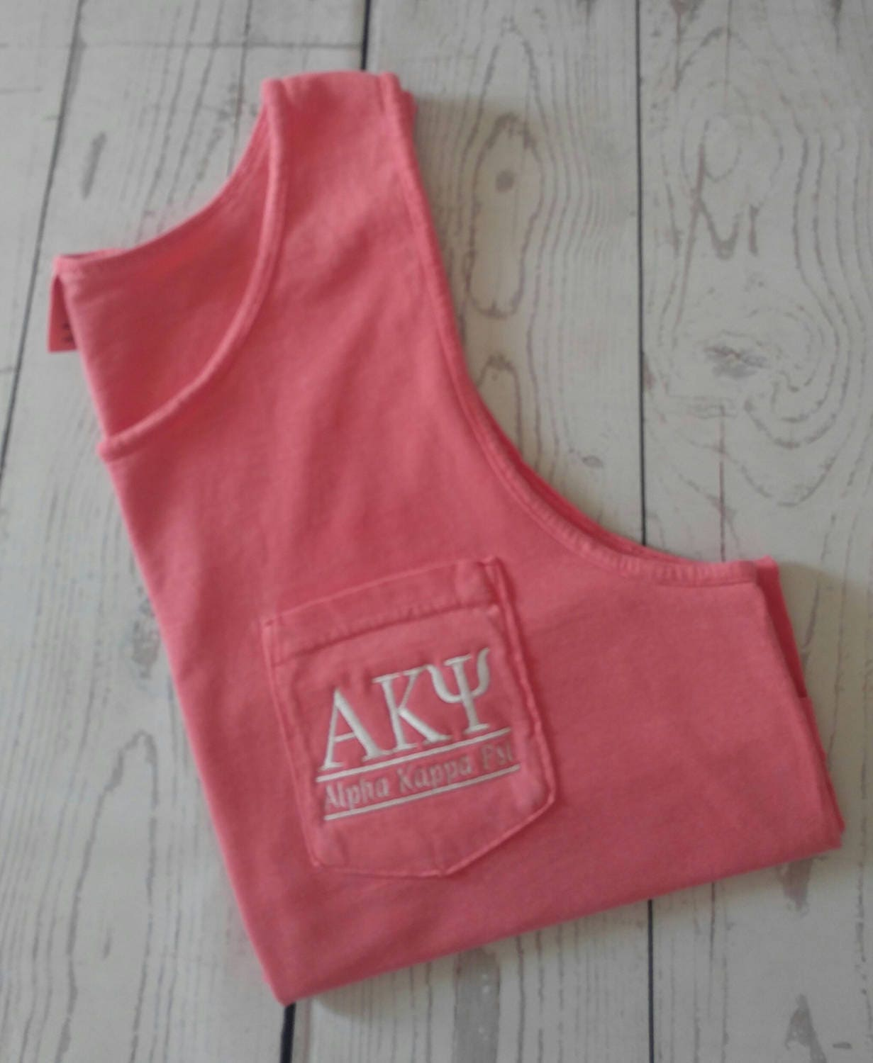Sorority shirts Alpha Kappa Psi Custom Tank Top Greek