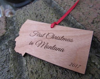 Montana State Ornament