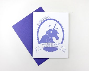You Are Magical Mom: Mom / Mother's Day Card