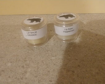 Peppermint and Orange Lip Balm