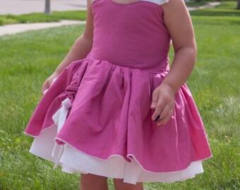 Boutique Quality Handmade Everyday Princess Aurora Sleeping Beauty Inspired Dress sizes newborn - girls 8