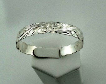 Unusual Child Size Vintage Sterling Silver Napkin Ring Cuff Bracelet FREE SHIPPING! #CHILD-CF10
