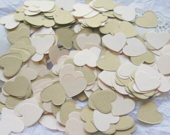 Wedding Party Confetti, BLUSH & GOLD
