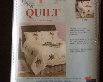 Iris quilt cross stitch design
