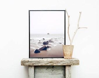 Coastal Wall Art, Coastal Print, Coastal Decor, Sea Print, Sea Wall Art, Ocean Print, Ocean Wall Art, Digital Download, Beach Print
