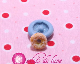 Mini donuts 10mm silicone mold