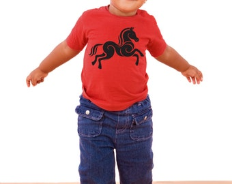 Horse - Baby T-shirt - Sizes: 12 or 18 months