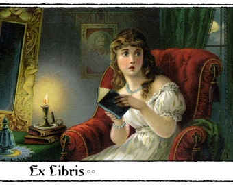 The Ghost Story Bookplates (Personalized or Blank)