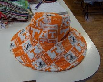 Orange T Hat