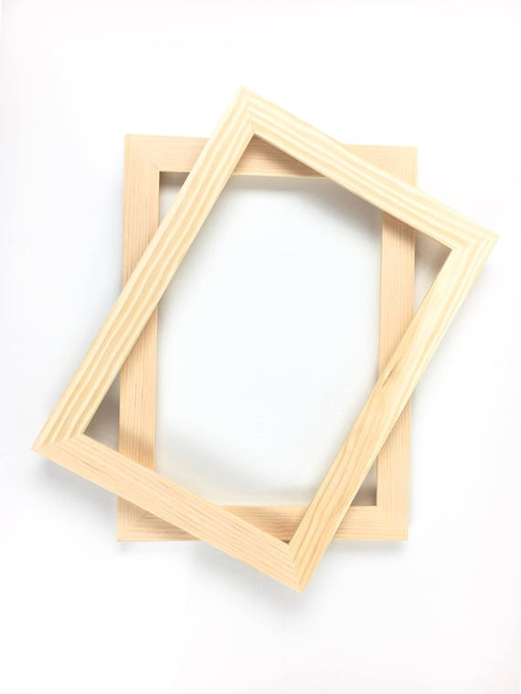 Unfinished Wood Frame - 8x12 Picture Frame Unfinished Frames from ...