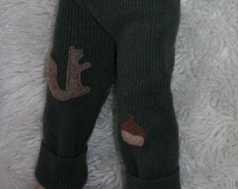 recycled kids clothing tutorial - wool longies