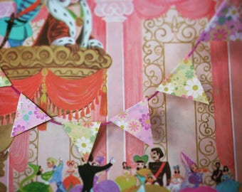 Insy Winsy paper bunting