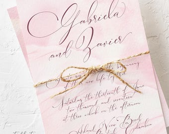 Wings of Love - Wedding Invitations (Style 13743)