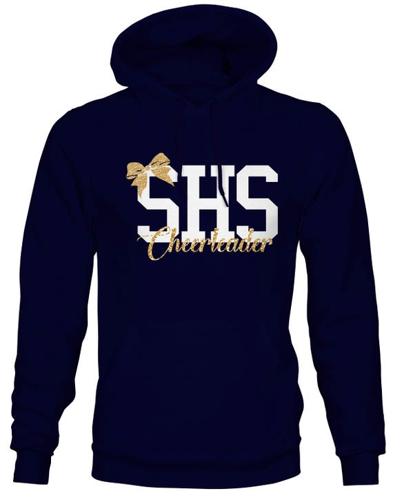 SHS Cheerleader Glitter Sweatshirt Adult Unisex Sbb8WNa