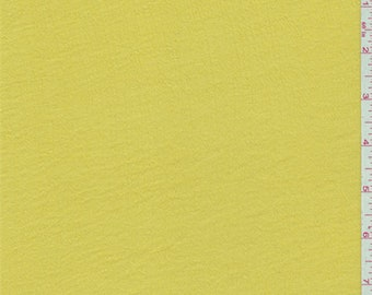 Bright Yellow Gauze, Fabric By The Yard