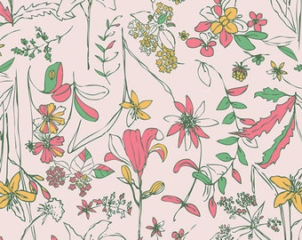 Untamed Beauty Daybreak - Signature - Sharon Holland - Art Gallery Fabrics - Fabric By the Half Yard