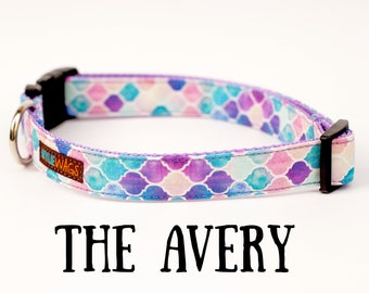 Handmade Arabesque Dog Collar, dog collar for girls, dog collar for boys