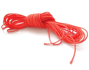Polyester yarn - cord pacifier 1.5 mm-Orange