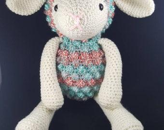 Crochet Stuffed Lamb - Limited Edition