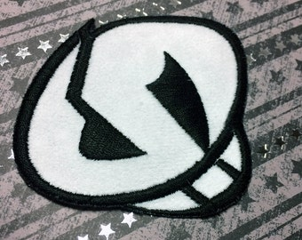 Free Shipping in the USA! Pokemon Sun and Moon Team Skull Grunt Iron On Patch Patches