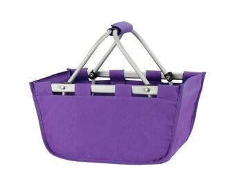 Purple Mini Market Tote