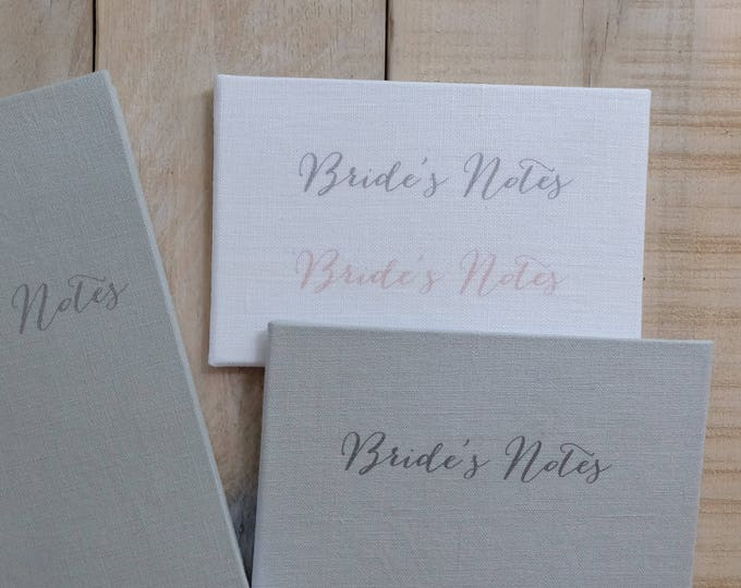 Fabric Color Sample Card, Font Sample Card, for Guest Book, Journal, Sketchbook, Wedding Guestbook