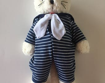 Cat cotton toy | handmade toy | cat toy | non-allergic toy | kids toy | baby toy