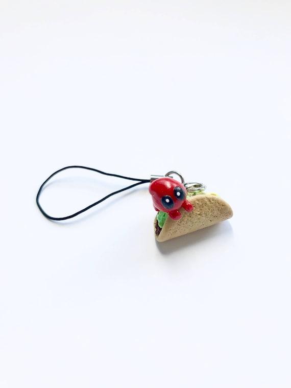 Taco Keychain Chibli. OMG.