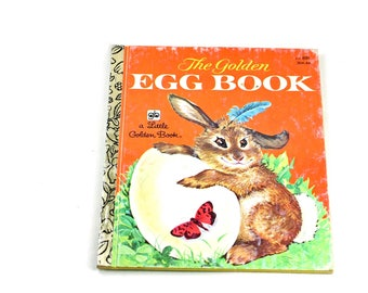 The Golden Egg Book Vintage Little Golden Book