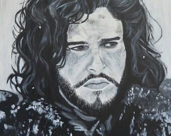 Portrait of Jon Snow (Kit Harington)