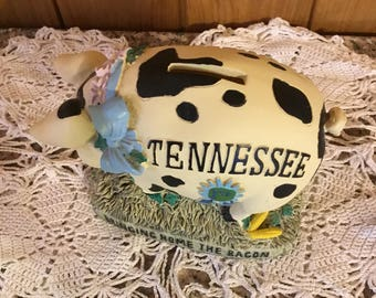 Tennessee Pig Piggy Bank