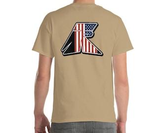 TR Troop Rising RWB Old Glory Edition Short-Sleeve T-Shirt
